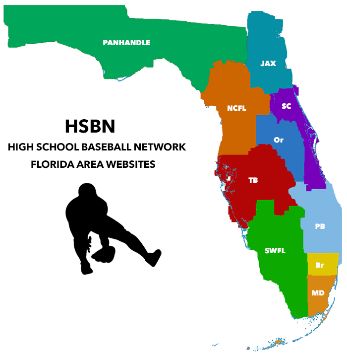 High School Baseball Network Team Search Map